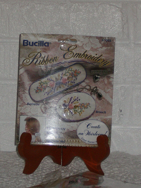 Silk ribbon embroidery kits by bucilla new tashsattic