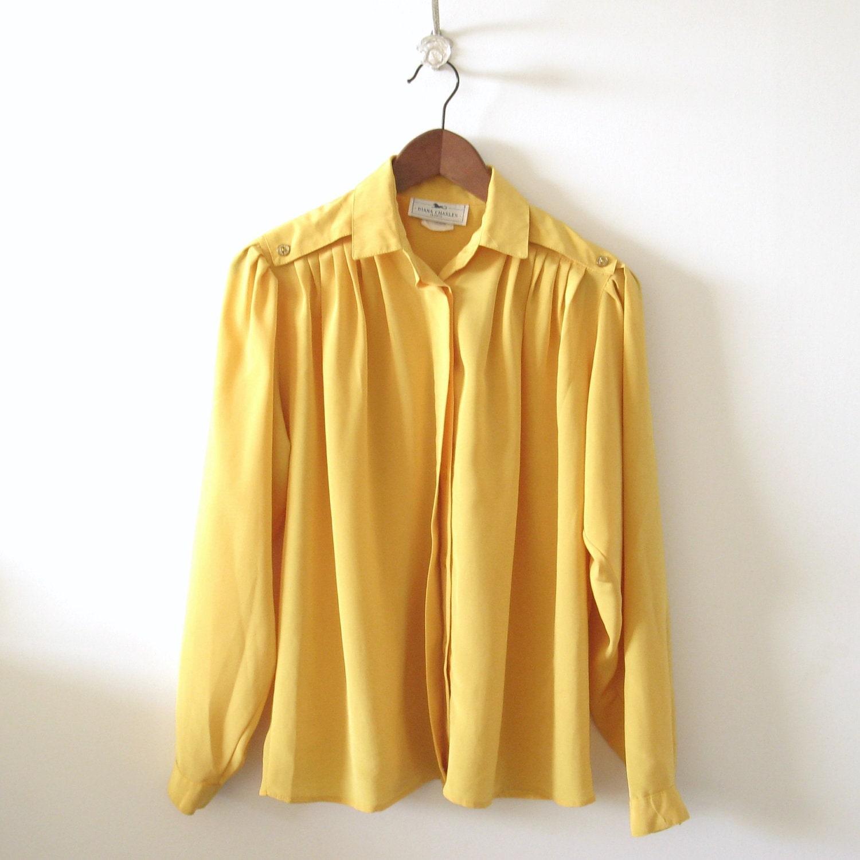 Yellow Mustard Blouse 64