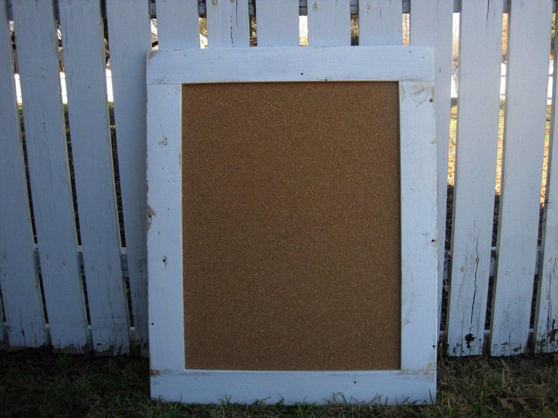 framed cork board large bulletin board by tenpennyhouse. Black Bedroom Furniture Sets. Home Design Ideas