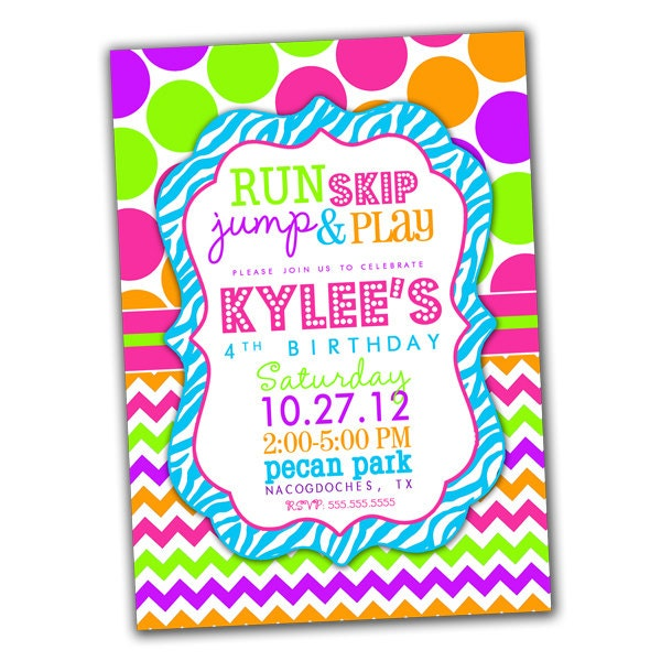 Neon Birthday Invitations is one of our best ideas you might choose for invitation design