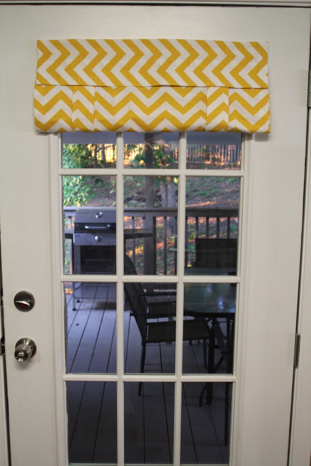 Items similar to french door curtains made to order no for Order french doors