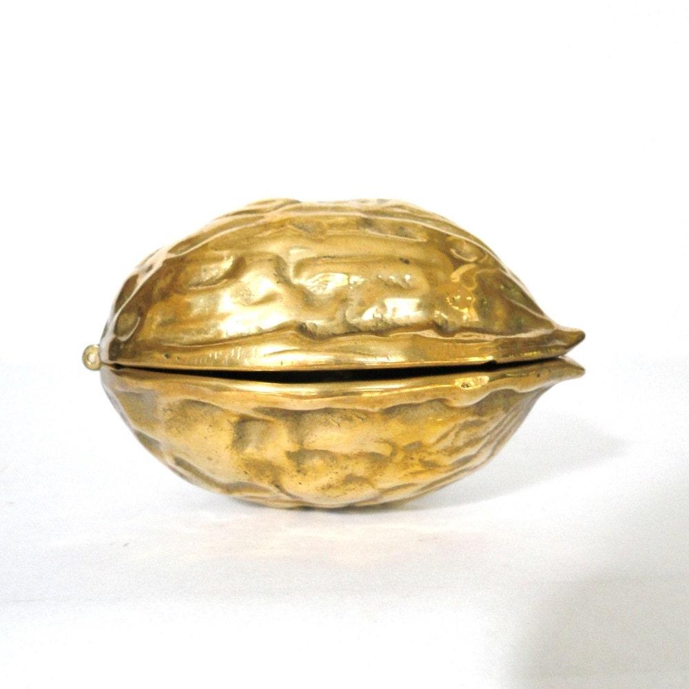 Vintage Brass Walnut Nut Cracker Brass Nut Shell by ...