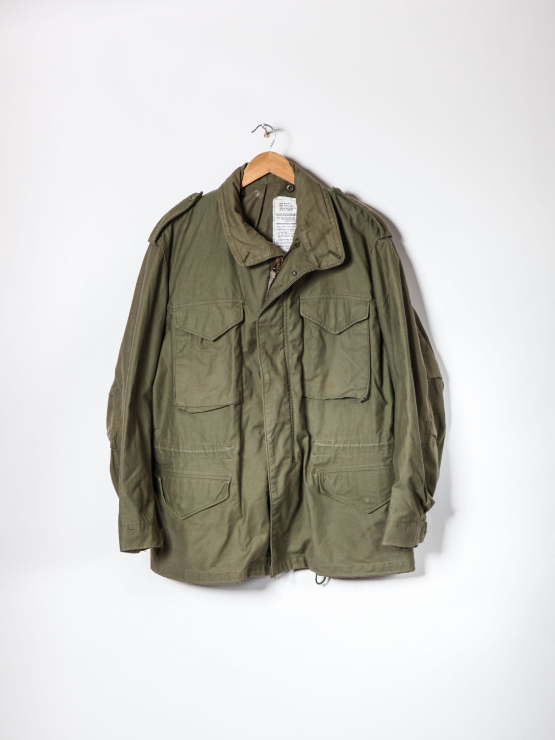 Vintage  Mens M65 Olive Green US Army Field Jacket Small/ Short