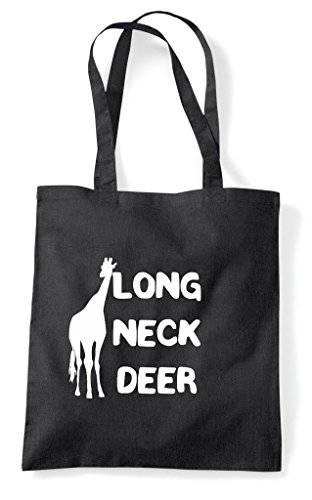Alternative Animal Names Long Neck Deer Giraffe Cute Funny Animal Themed Tote Bag Shopper
