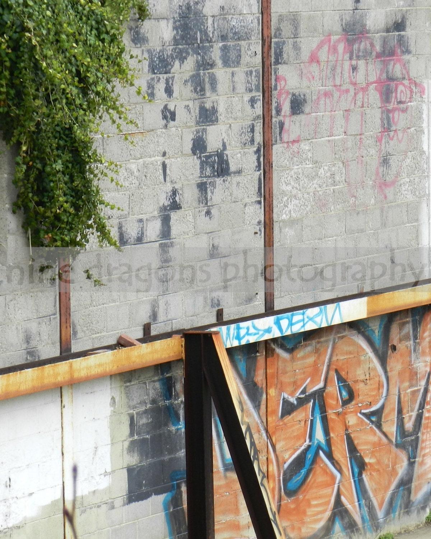 Man Cave Urban Years : Graffiti photo wall art man cave decor urban by ninedragons