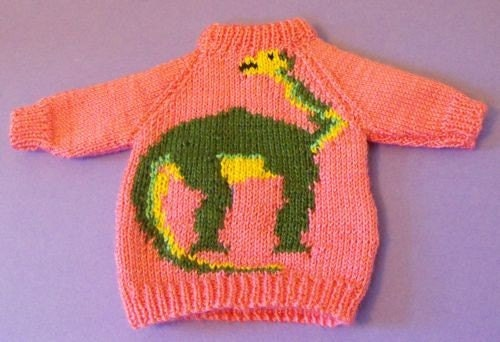 Knitting Pattern Jumper With Dinosaur : Unavailable Listing on Etsy