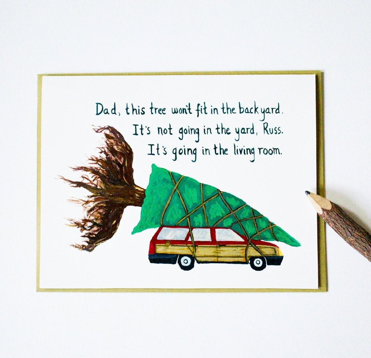 National Lampoon Christmas Vacation Christmas Cards