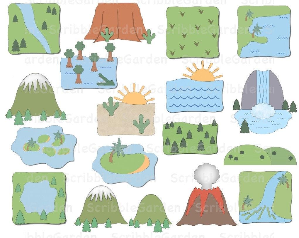 Landforms Geography Cl...