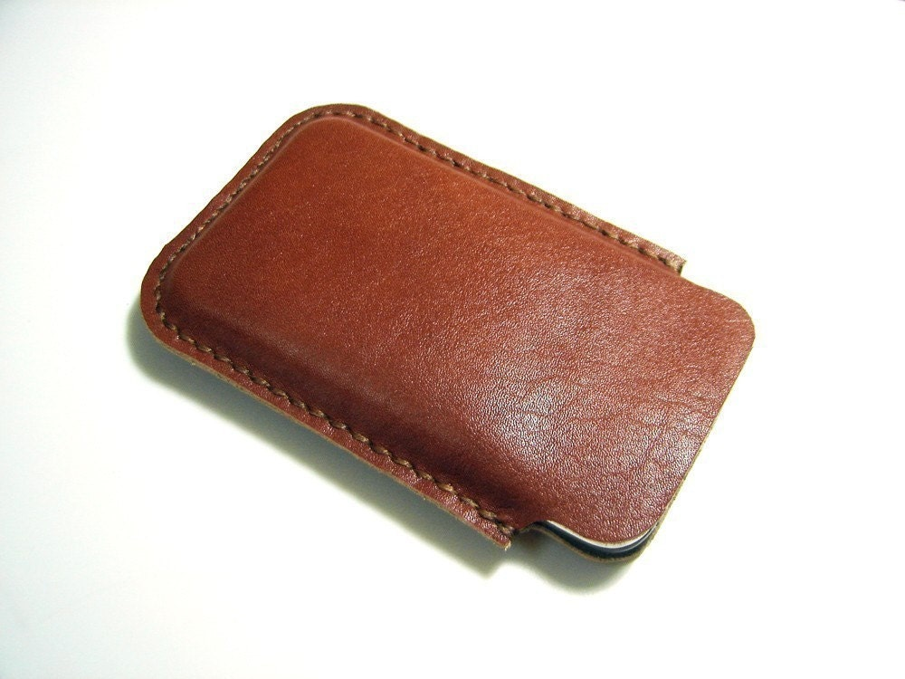 Hand Stitched Leather iPhone Sleeve
