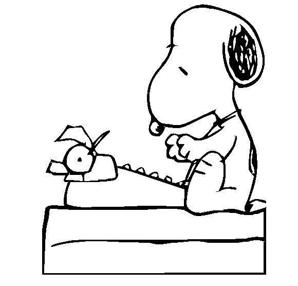 Snoopy Typing Vinyl Sticker By Vinylstickers On Etsy