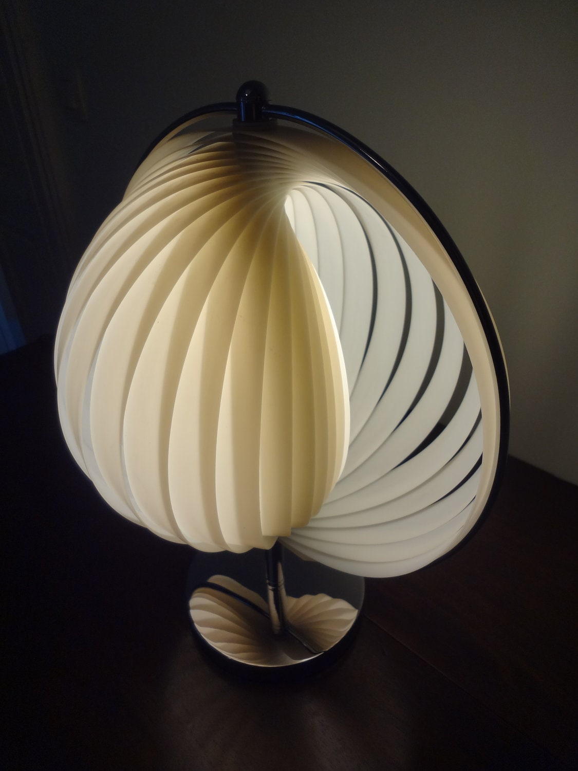 Verner panton moon lamp table lamp 1960s perfect condition