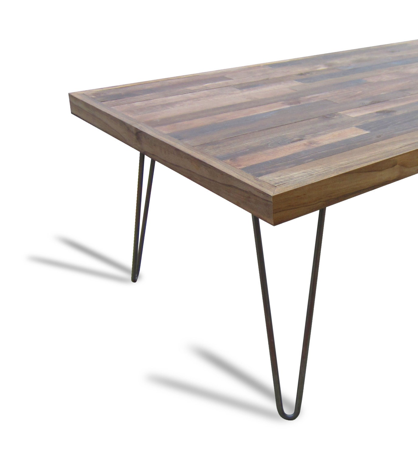 hairpin coffee table legs raw steel 16 4 by unionfurnishings