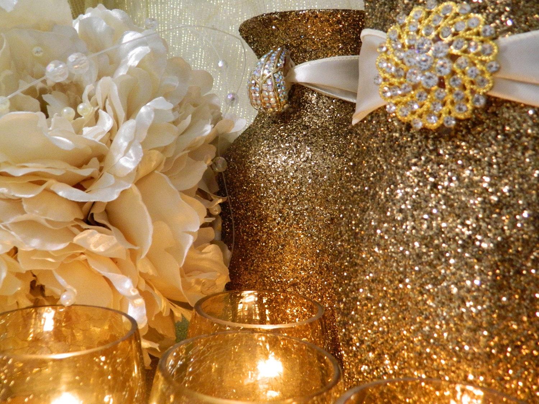 Similiar Black And Gold Wedding Centerpiece Ideas Keywords