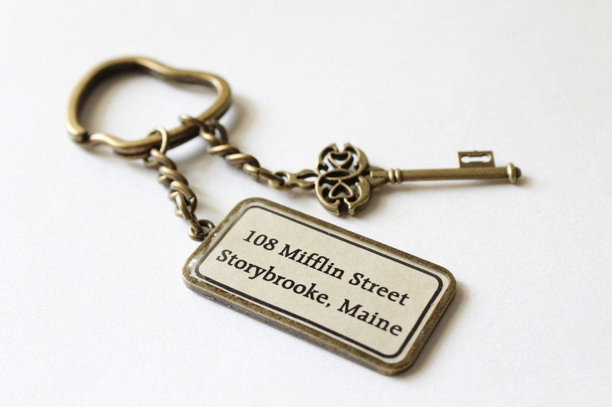 The Mayor's House Key Ring (OUAT) - CissyPixie