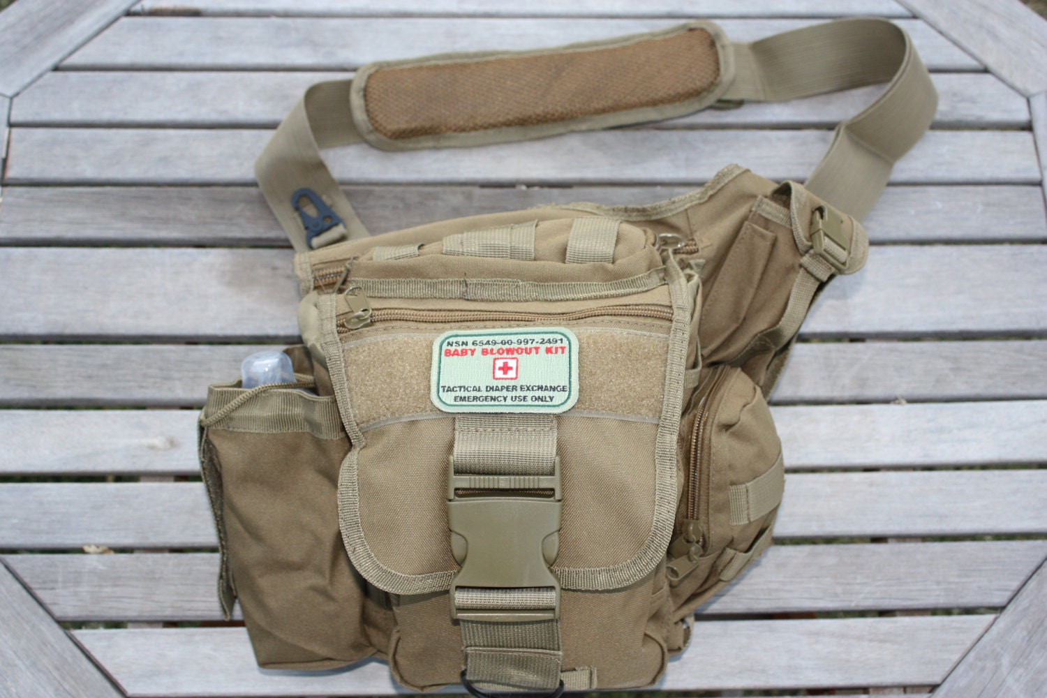 daddy doodie bag military style tactical diaper by tacticaltot. Black Bedroom Furniture Sets. Home Design Ideas