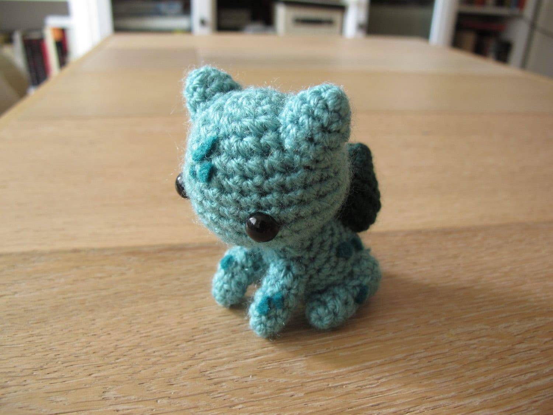 Pokemon Bulbasaur Amigurumi Crochet plush small by ...