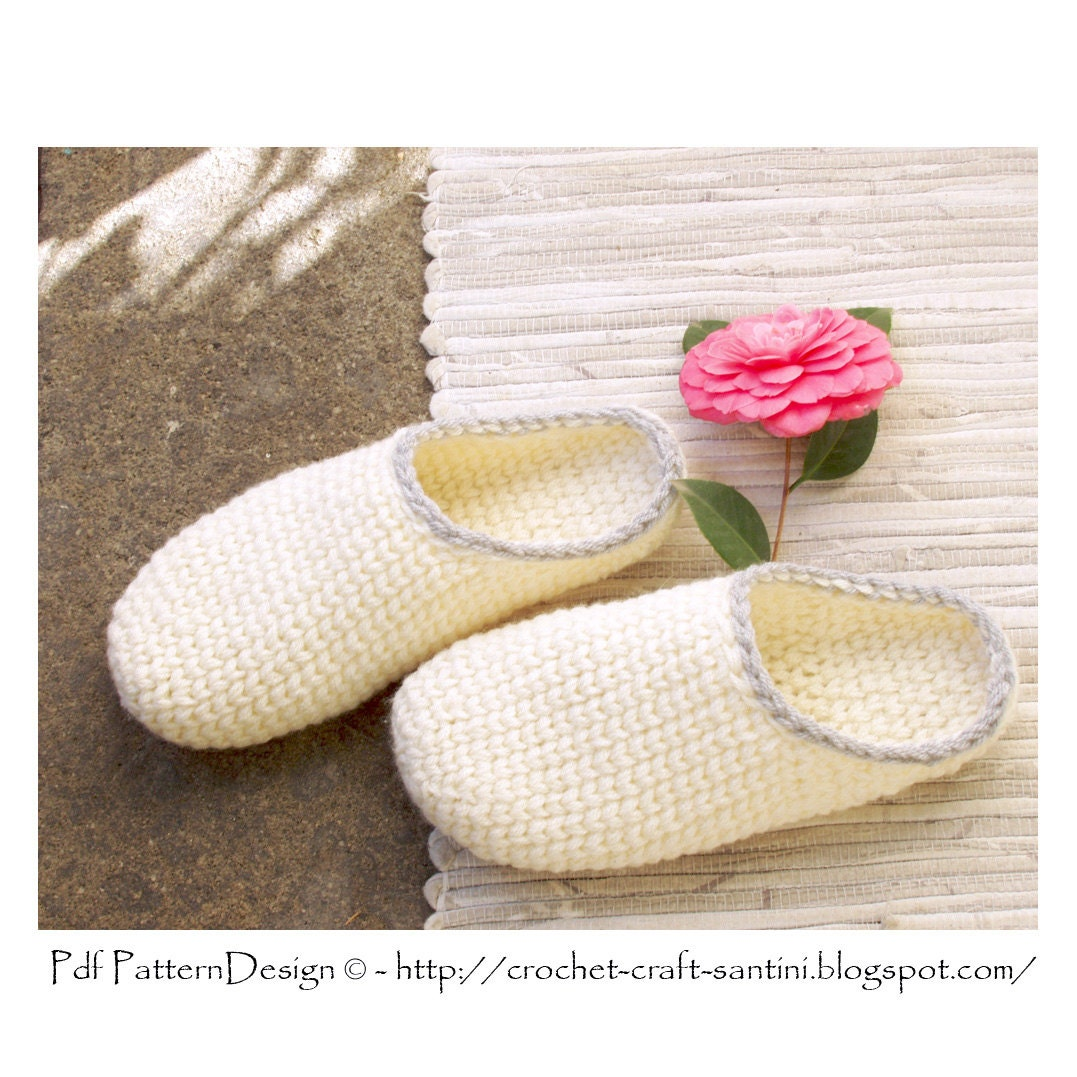 Felted Clog Pattern Online + Crochet - Online Crochet
