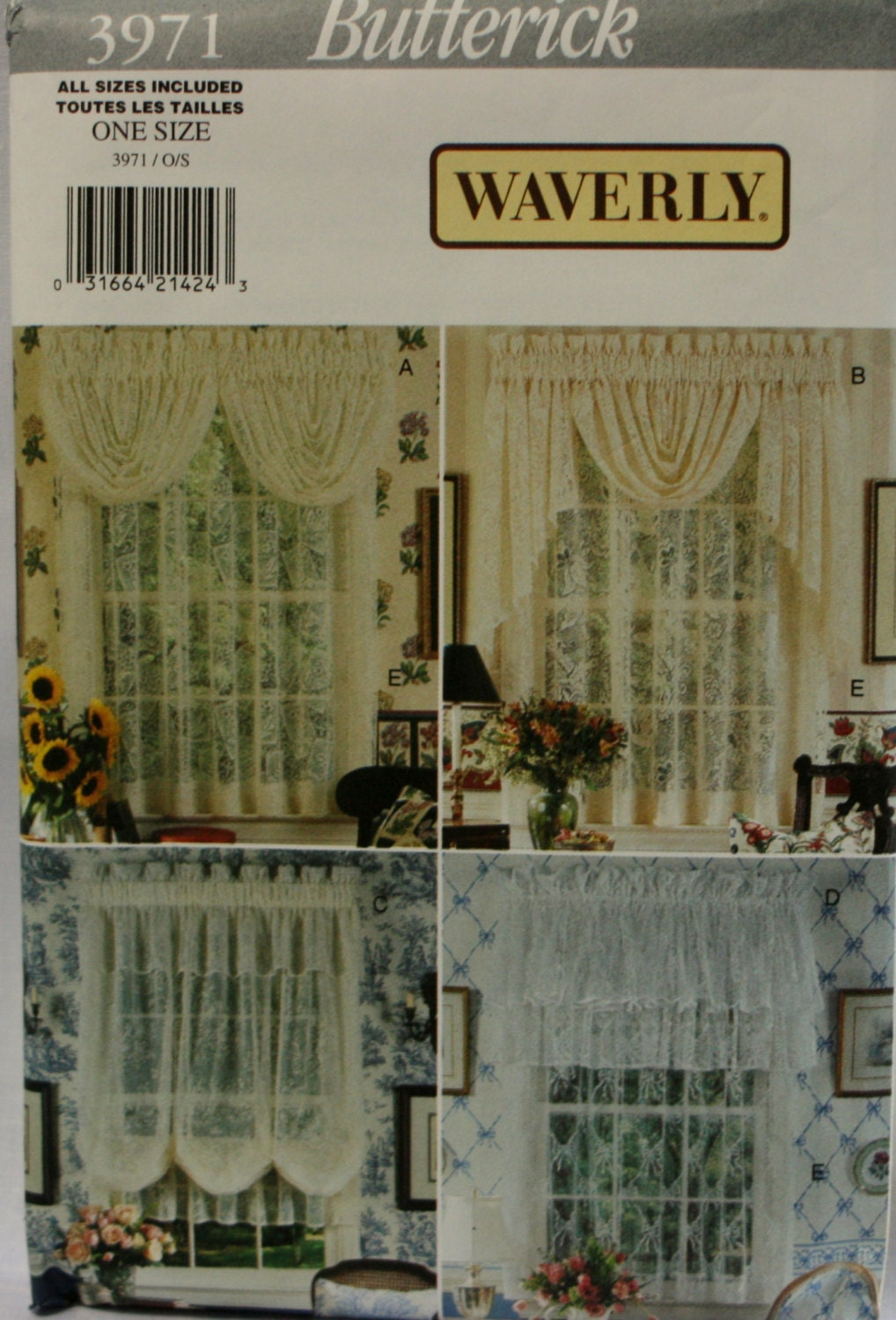 Butterick curtain patterns