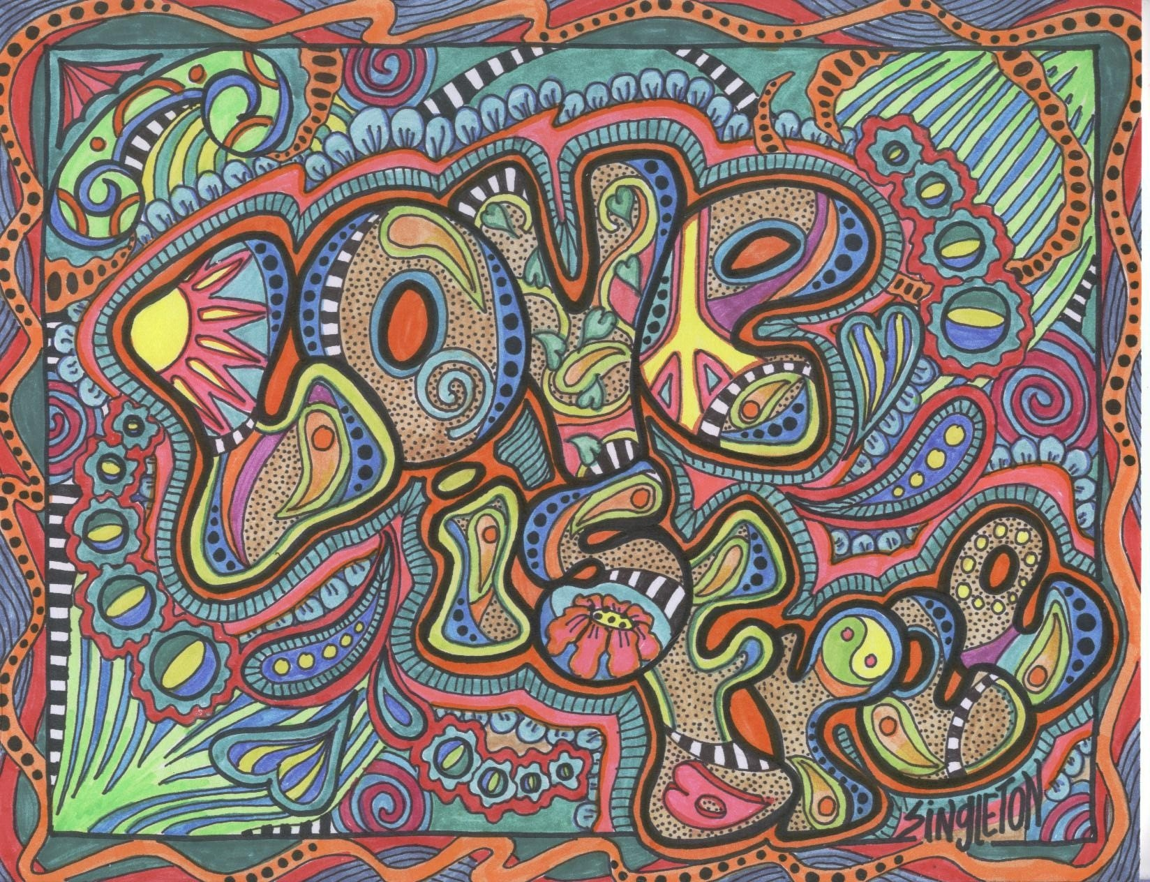 Arte hippie taringa - M r love wallpaper ...