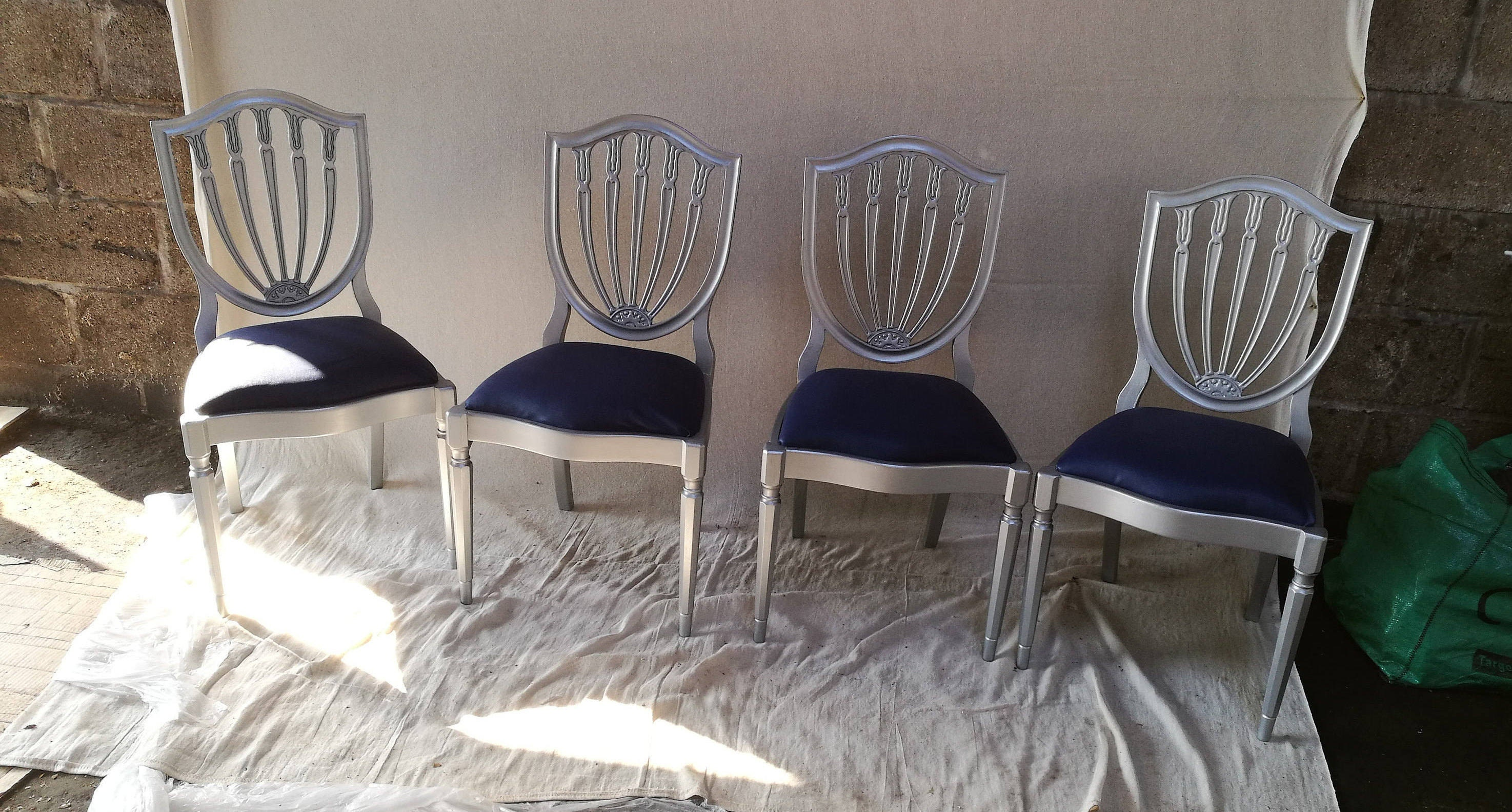 Canute chairs carved chairs upcycled chairs upcycled ornate chairs recycled chairs chairs with upholstered seats dining chairs