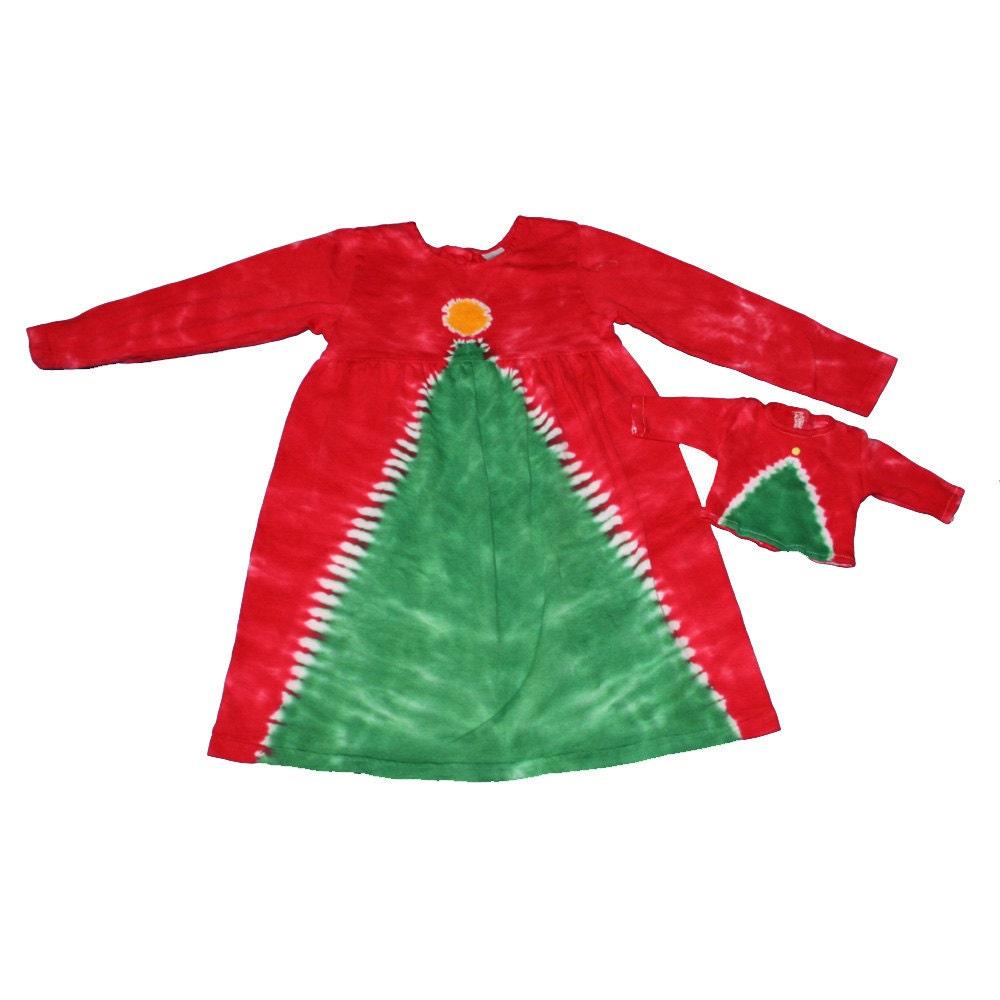 tie dye christmas tree - photo #34