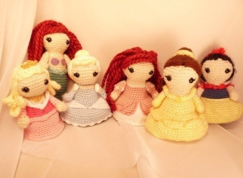 Amigurumi Disney Princess : Etsy - Your place to buy and sell all things handmade ...