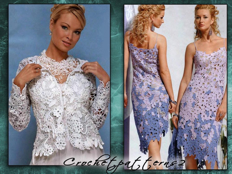 Irish Lace Wedding Dress Pattern