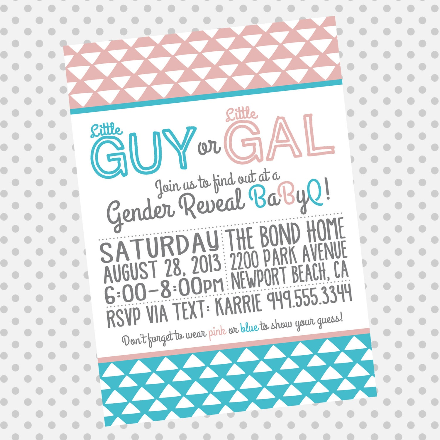 gender reveal babyq invitation baby shower invitation gender reveal