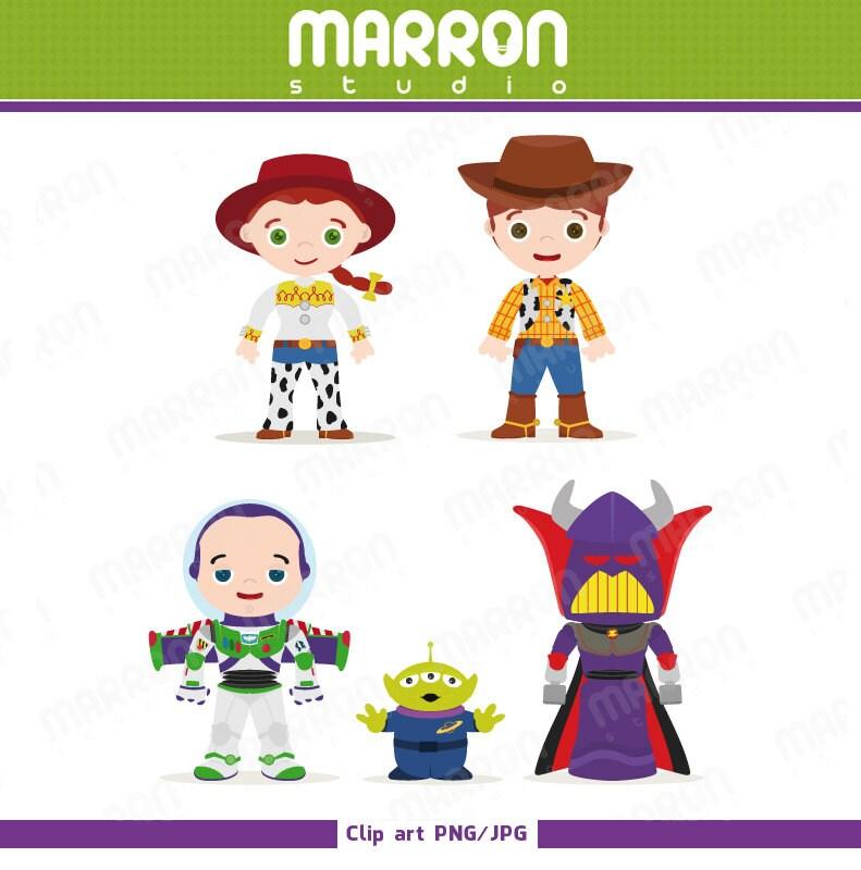 Toy story Inspired set Jessie Woody Buzz lightyear by elmarron