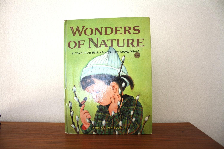 Wonders of Nature Big Golden Book, 1958 - 1SweetDreamVintage