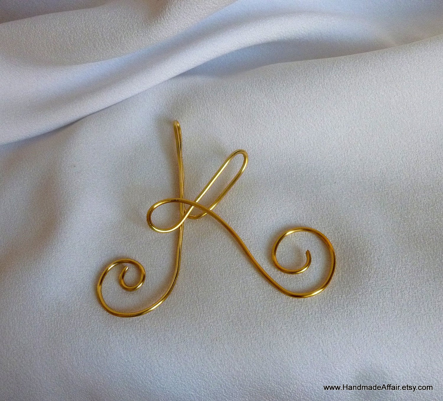 christmas ornaments gold letter initial by handmadeaffair With gold letter ornaments