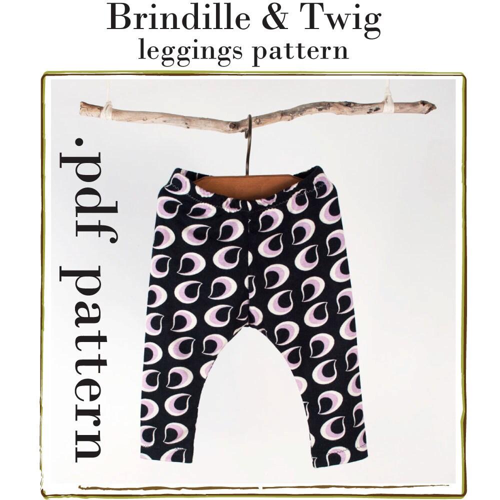 Baby leggings sewing PATTERN .pdf by brindilleandtwig on Etsy