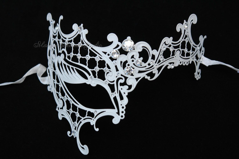 Masquerade Ball mask Luxury Venetian by MasquerademaskStudio
