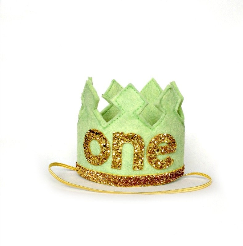 First Birthday Boy Boy Birthday Crown Boy Birthday: First Birthday Crown Boy Crown Headband LARGE By