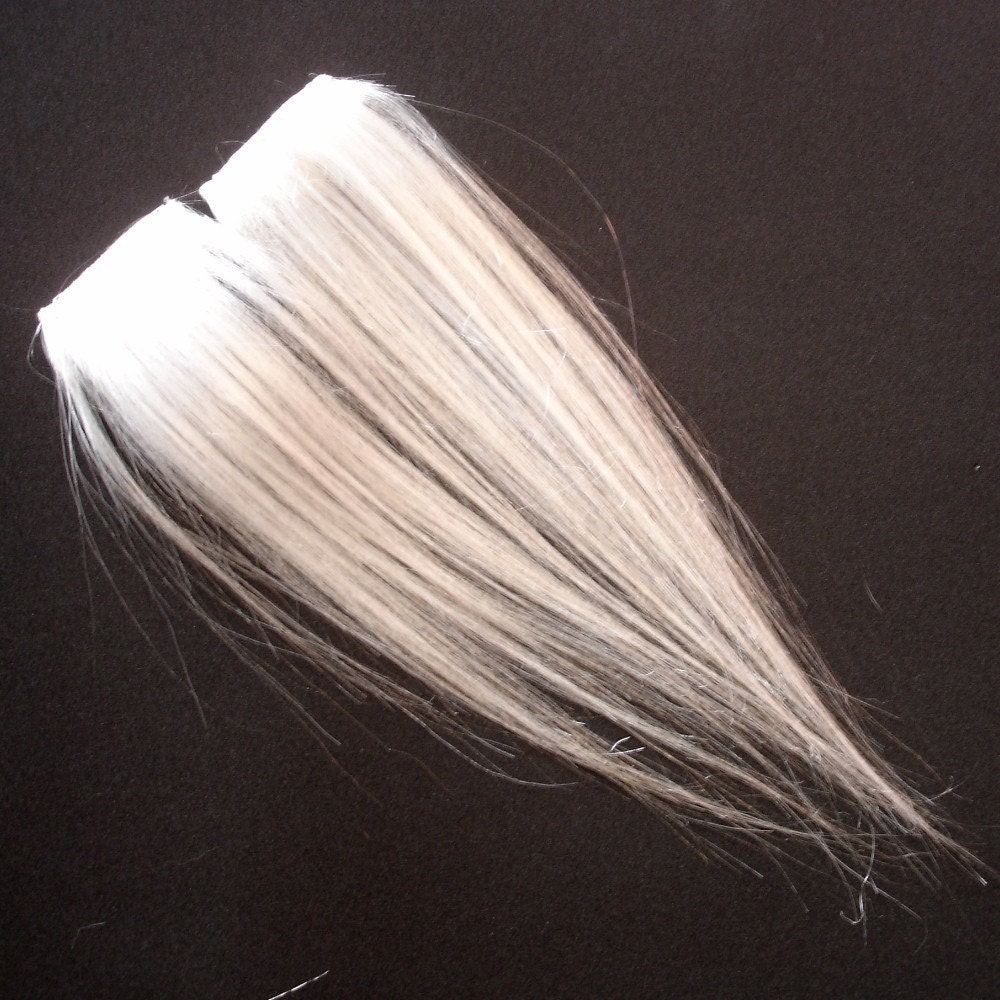 White clip in hair extensions fake hair streaks highlights on the hunt pmusecretfo Gallery