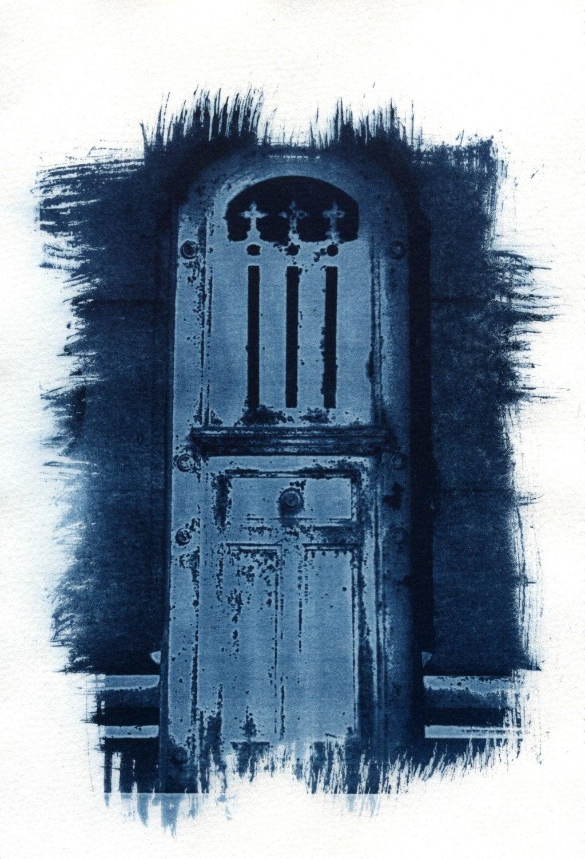 Pere Lachaise cyanotype