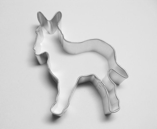 Donkey 3 inch Cookie Cutter