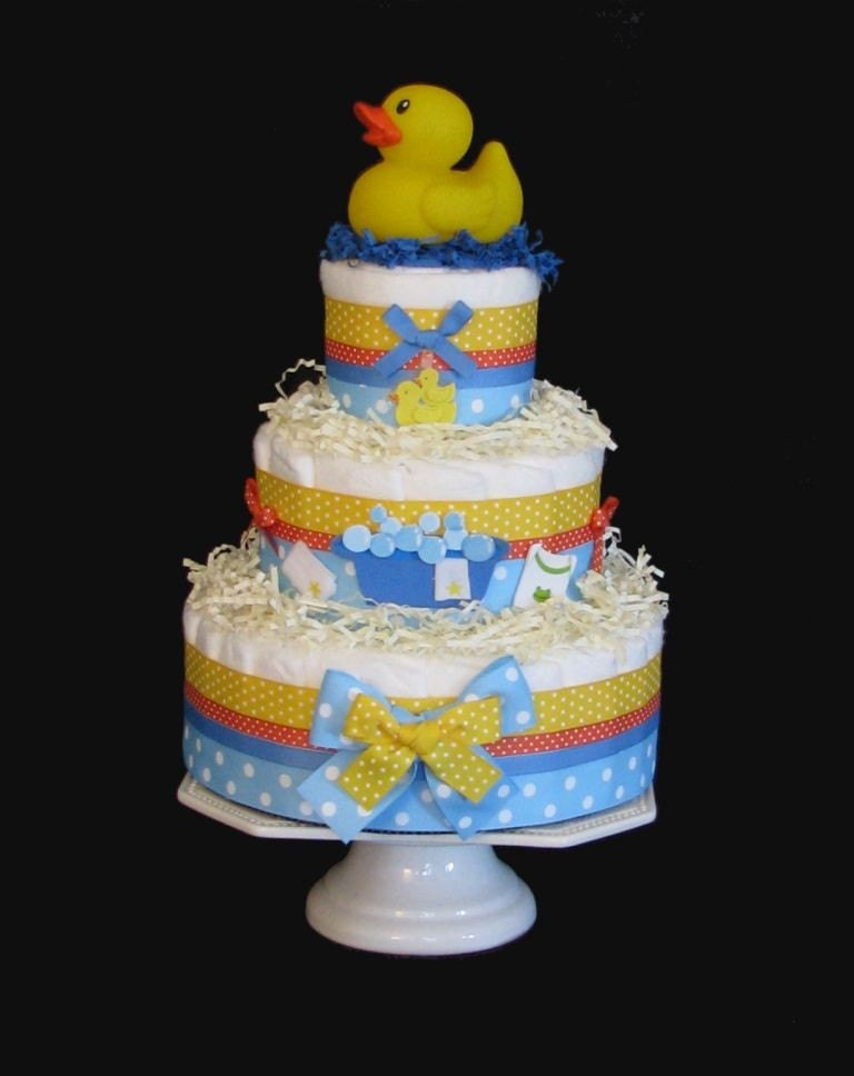 pin rubber ducky tub baby shower cake picture for pinterest and