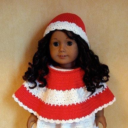 "GreenStyleMom: Free 18"" Doll Poncho Pattern (shown on"