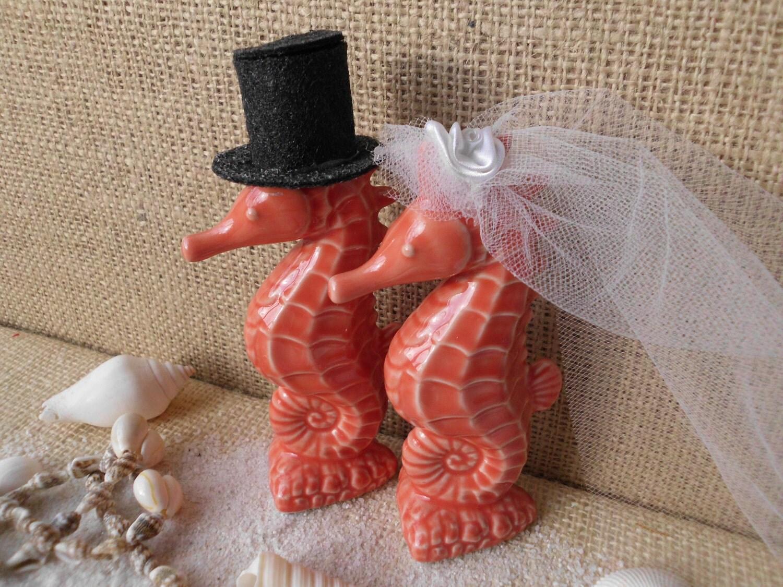 hawaiian wedding cake toppers