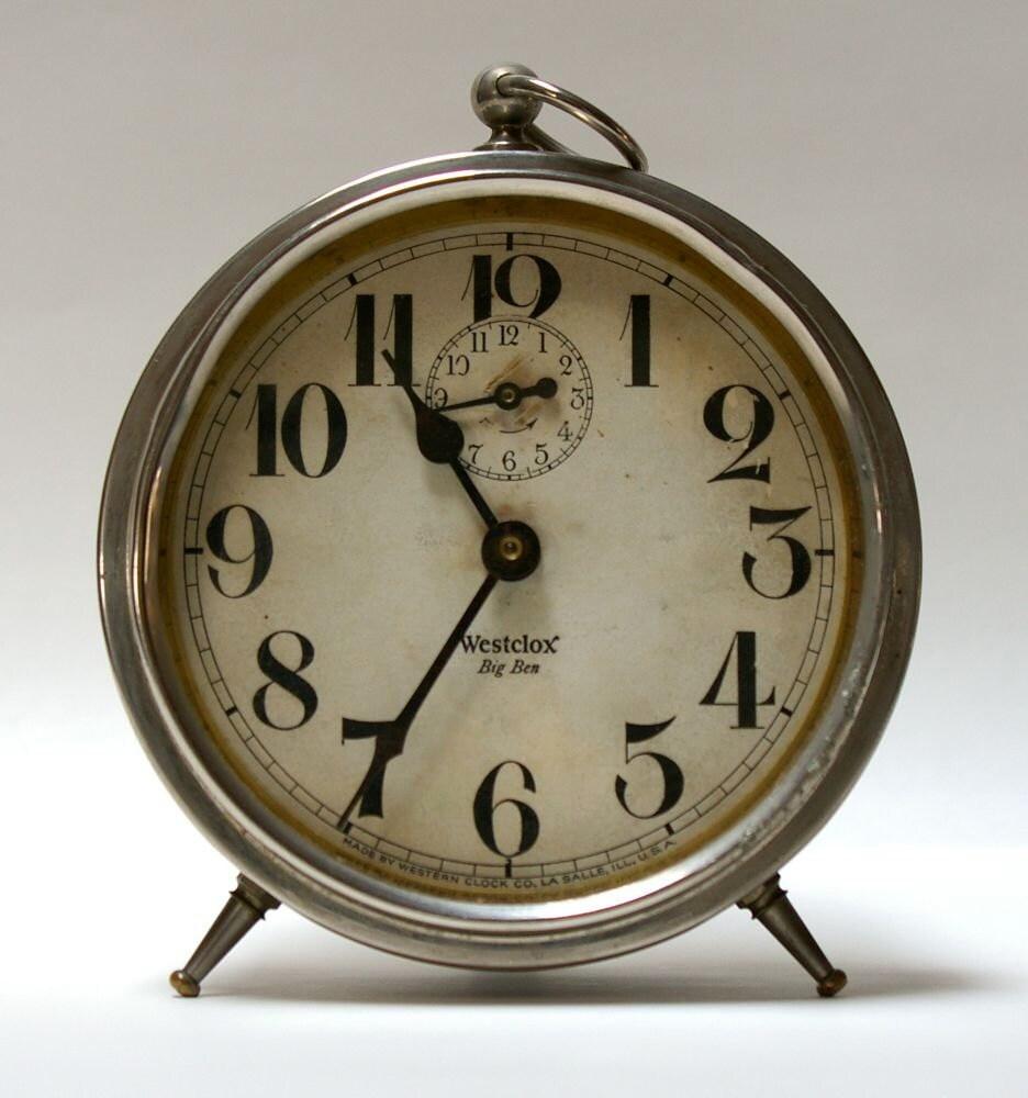Vintage 1930's Westclox Big Ben Alarm Clock by CanemahStudios
