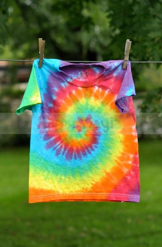 Custom tie dye infant toddler dyed shirt 6m 12m 18m by for Custom t shirts tie dye