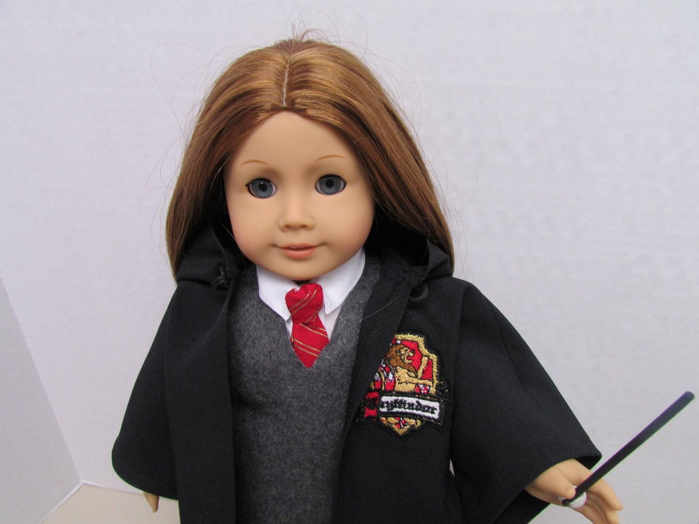 American Girl Doll Harry Potter Uniform by donnacotterman on Etsy