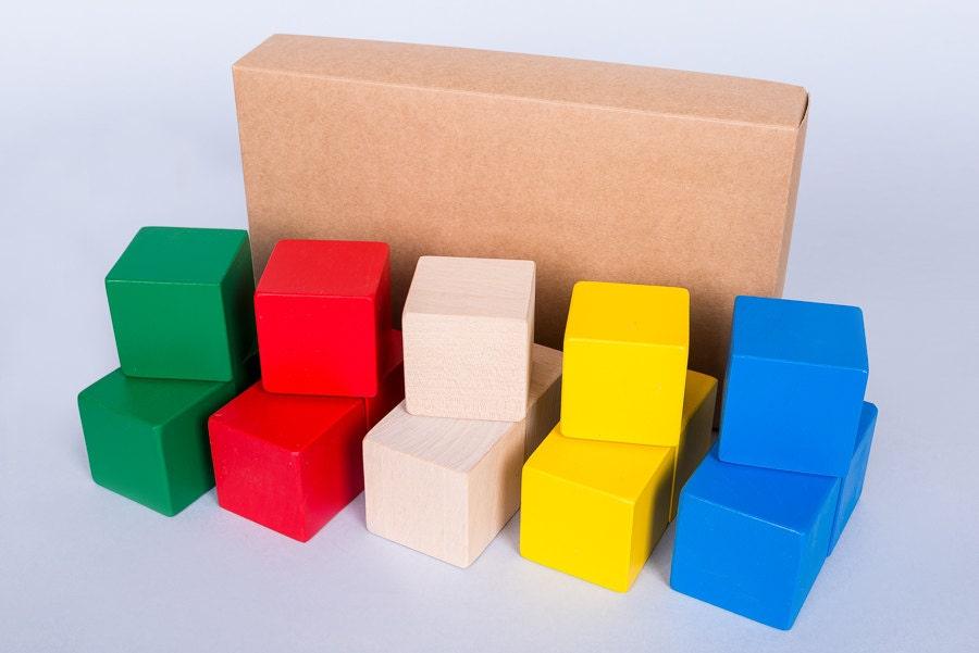 Colored Wood Blocks ~ Unavailable listing on etsy