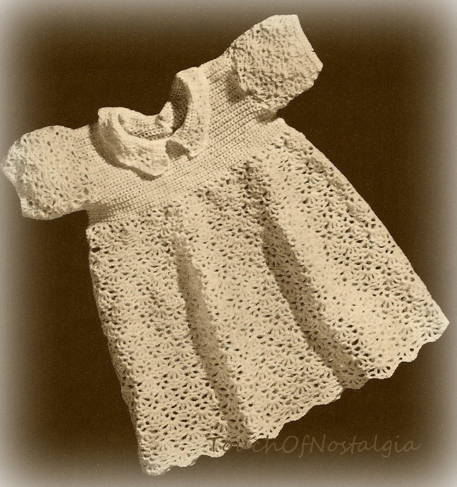 Vintage Crochet Baby Dress Pattern : 301 Moved Permanently