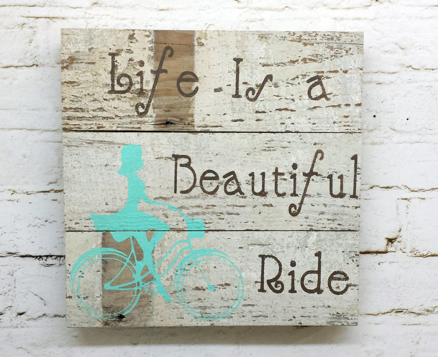 Shabby chic barn wood sign