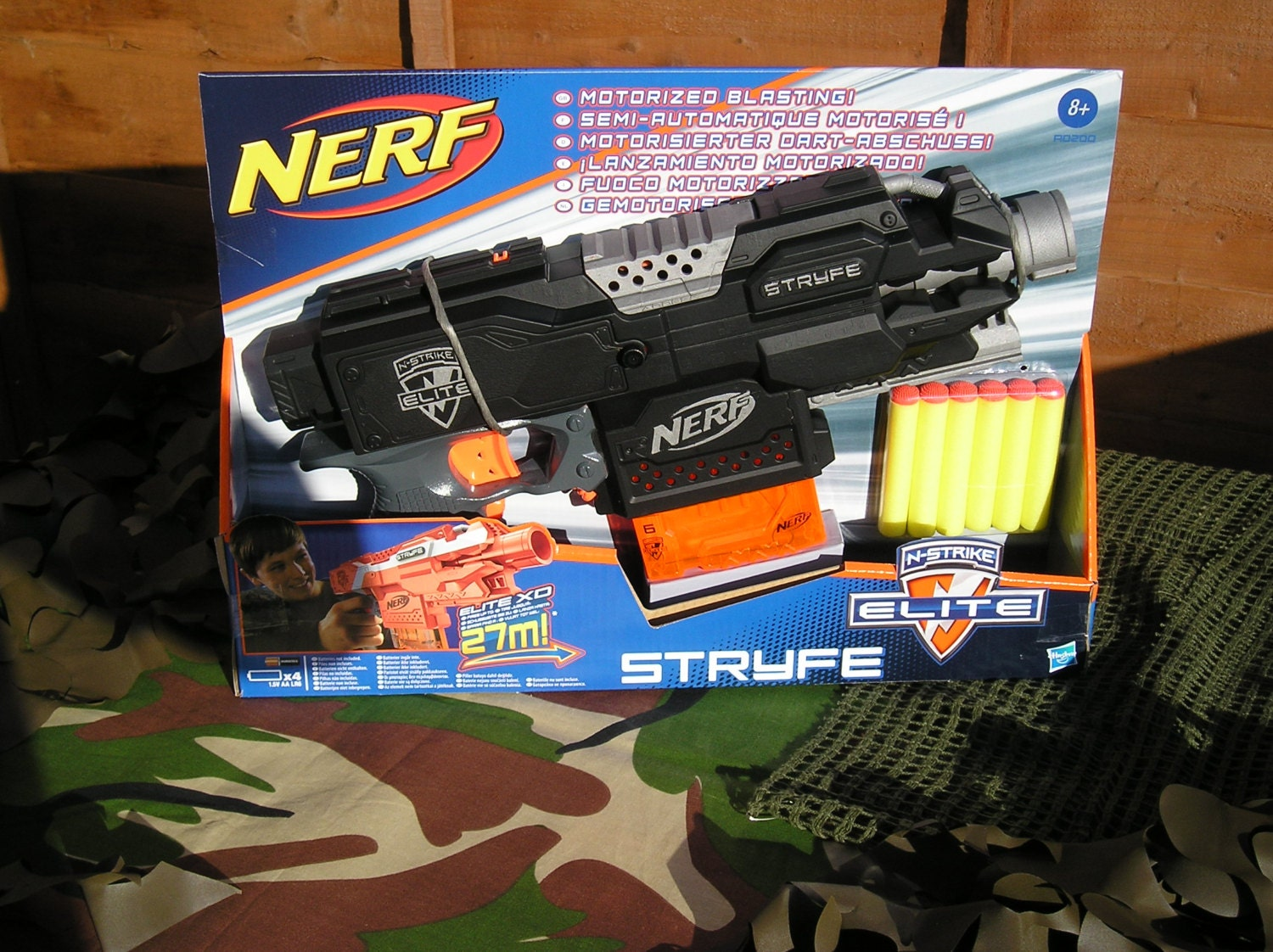 Nerf Tactical Stryfe Modified (Basher supersonic motors and rewired)  blasterparts