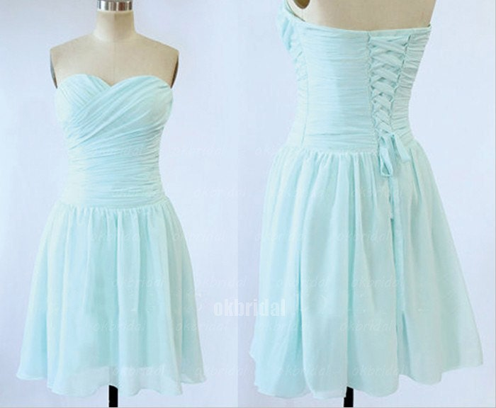 Etsy your place to buy and sell all things handmade for Short light blue wedding dress