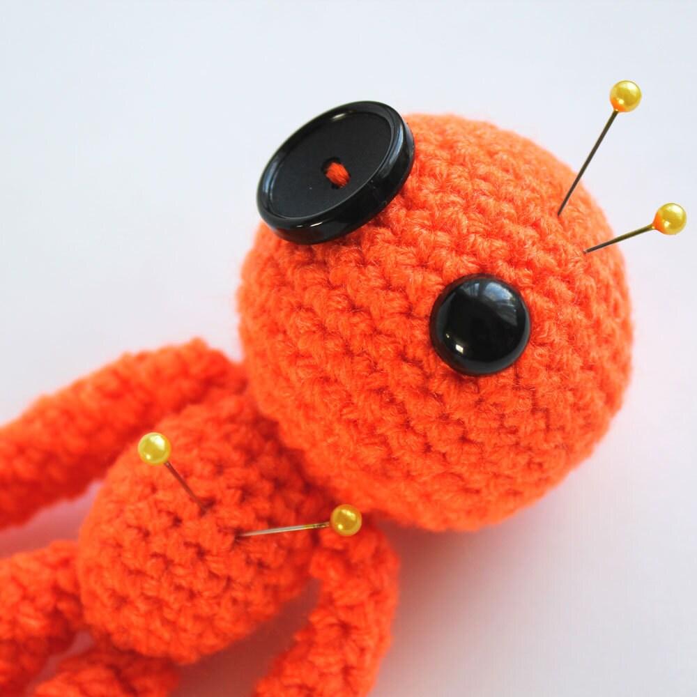 Amigurumi Voodoo Doll : Creativity the Orange Amigurumi Voodoo Doll by cutedesigns ...