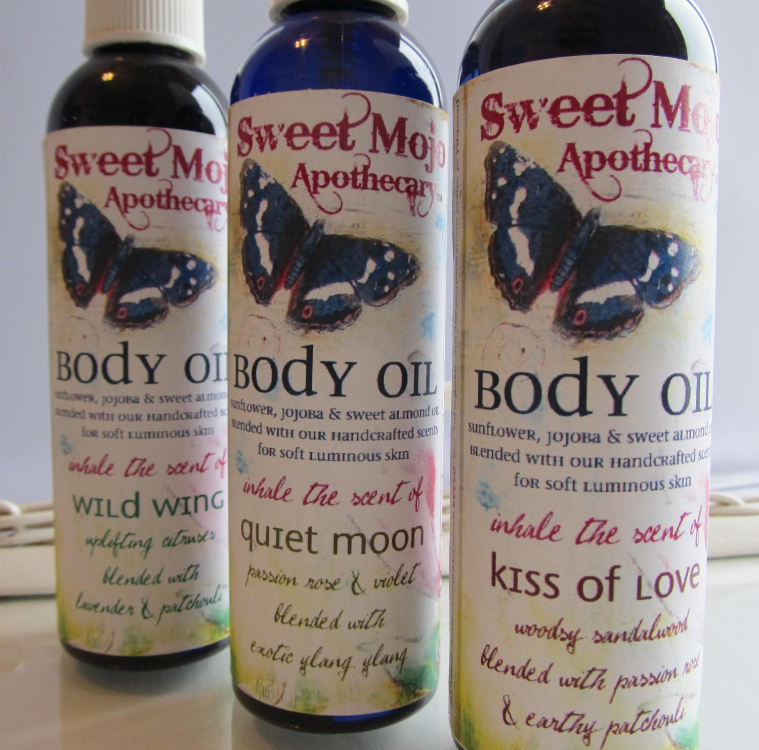 Kiss of Love Body Oil - SweetMojoApothecary